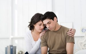 How to guarantee her husband through America not enooough finance?